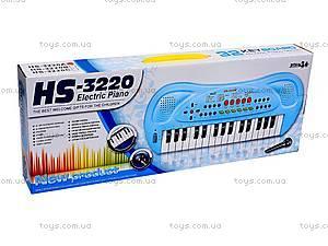Музыкальный орган с микрофоном, HS3220A