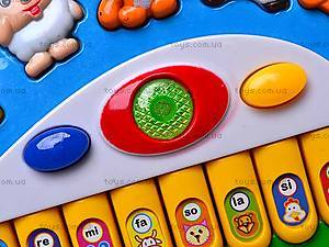 Музыкальный орган «Зайчик», 833A-17, игрушки