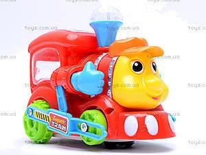 Музыкальный паровоз для детей, 0645, фото