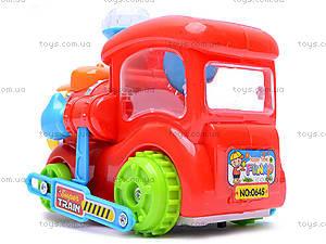 Музыкальный паровоз для детей, 0645, игрушки