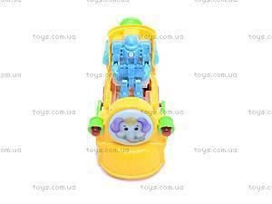 Музыкальный паровоз для малышей, QS107, фото