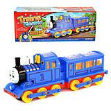 Музыкальный паровоз голубой, 8928-02, фото
