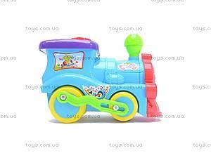 Музыкальный паровозик, QS108, фото