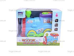 Музыкальный паровозик, QS108, игрушки