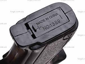 Музыкальный пистолет, 666-2, игрушки