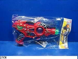 Музыкальный пистолет «Человек-паук», XY03-1