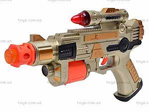 Музыкальный пистолет для мальчиков, 788A-A23, фото