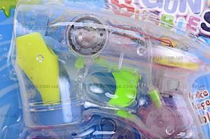 Музыкальный пистолет с мыльными пузырями, 06884B, купить