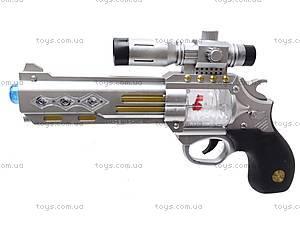 Музыкальный пистолет с прицелом, 7609, купить
