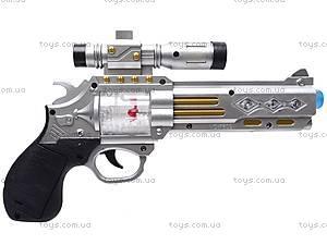 Музыкальный пистолет с прицелом, 7609, фото