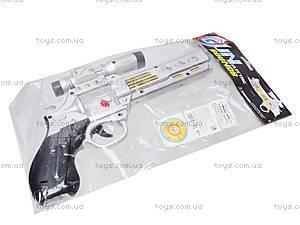 Музыкальный пистолет с прицелом, 7609