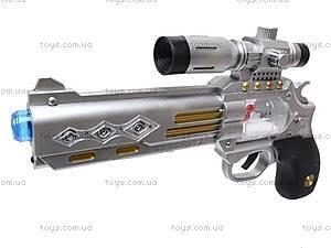 Музыкальный пистолет с прицелом, 7609, цена