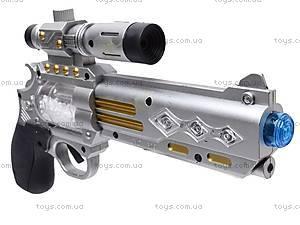 Музыкальный пистолет с прицелом, 7609, игрушки