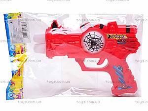 Музыкальный пистолет Spiderman, 3328-3, купить