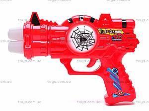 Музыкальный пистолет Spiderman, 3328-3