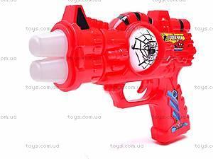 Музыкальный пистолет Spiderman, 3328-3, фото