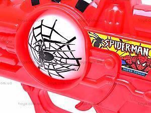 Музыкальный пистолет Spiderman, 3328-3, цена