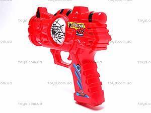 Музыкальный пистолет Spiderman, 3328-3, игрушки