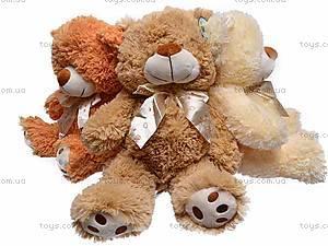 Музыкальный плюшевый медведь, с бантом, S-JY-4051/30, фото