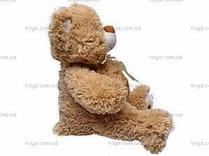 Музыкальный плюшевый медведь, с бантом, S-JY-4051/30, отзывы