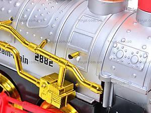 Музыкальный поезд с мыльными пузырями, 2011-2C, детские игрушки