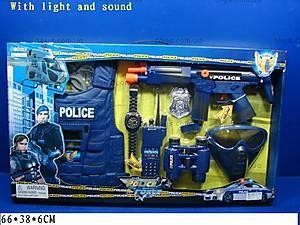 Музыкальный полицейский набор, 33530