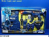 Музыкальный полицейский набор, 33530, фото