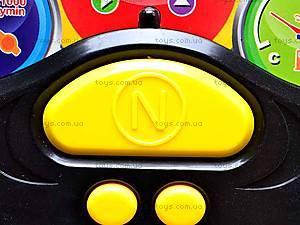 Музыкальный развивающий руль, 0582-2, детские игрушки