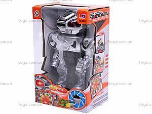 Музыкальный робот, с дисками, KD-8802, игрушки