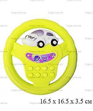 Музыкальный руль «Веселые гонки», 699B, фото