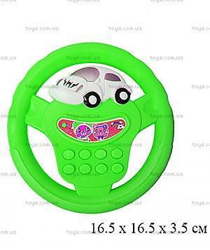 Музыкальный руль «Веселые гонки», 699B, отзывы