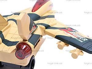 Музыкальный самолет, детский, IVS001-3, детские игрушки
