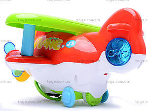 Музыкальный самолетик, 668-1, игрушки