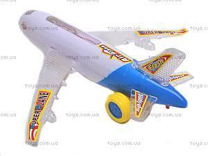 Музыкальный самолетик, детский, HJ108, купить