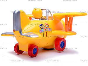 Музыкальный самолетик для детей, 1869-1, игрушки
