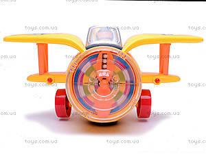 Музыкальный самолетик для детей, 1869-1, детские игрушки