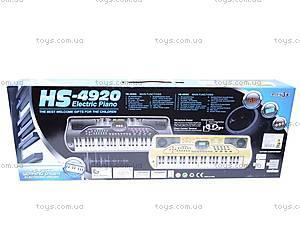 Музыкальный синтезатор, HS-4920A, отзывы