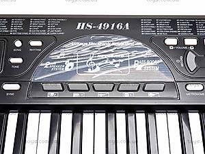 Музыкальный синтезатор для детей, HS4916A, отзывы