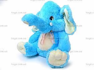 Музыкальный слон, плюшевый, S-S38-3350/60