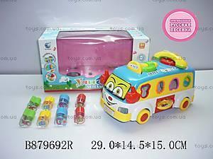 Музыкальный сортер Fun Bus, 2201
