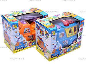 Музыкальный сортер «Машинка», 722-733, игрушки