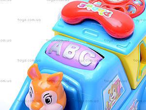 Музыкальный сортер «Машинка», 722-733, toys.com.ua