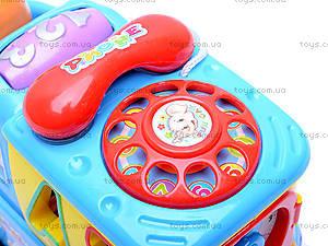 Музыкальный сортер «Машинка», 722-733, toys