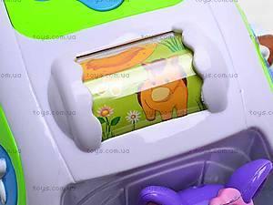 Музыкальный сортер-машинка, ZYE00015, детские игрушки
