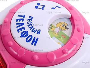 Музыкальный телефон для детей, 7287, toys