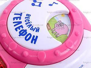 Музыкальный телефон для детей, 7287, іграшки