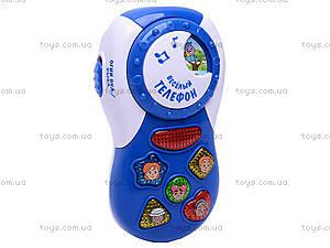 Музыкальный телефон для детей, 7287, купить