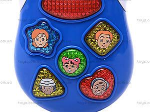 Музыкальный телефон для детей, 7287, фото