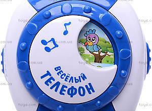 Музыкальный телефон для детей, 7287, игрушки