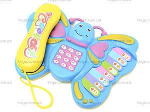 Музыкальный телефон для детей «Бабочка», 2014, купить